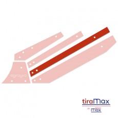 Tira central larga izquierda TiraMAX p/arado con equipo Vogel&Noot - AgrayraMax 02040273 posición